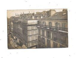 11140 - 75 - Carte Photo PARIS 4ième Arrondissement, Vue Sur La Rue Du Platre Et Rue Du Temple - Arrondissement: 04