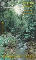 ST.KITTS & NEVIS(GPT) - Tropical Rain Forest, CN : 262CSKA, Tirage 10000, Used - St. Kitts En Nevis