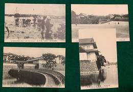 JAPAN - Tokyo - 1900-1910's - 4 Cards - Tokyo