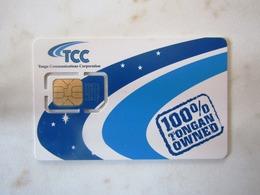 SIM   GSM   VERY RARE   TCC   UCALL   TONGA TOP   MINT - Tonga