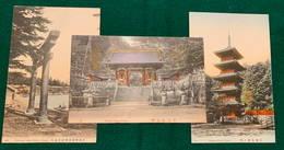 JAPAN - Nikko - 1900-1910's - 3 Cards - Japon