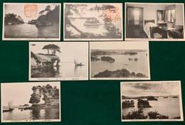 JAPAN - Matsushima - 1900-1910's - 7 Cards - Japon