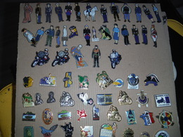 Lot De 180 Pin's Gendarmerie - Police & Gendarmerie