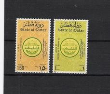 QATAR , 1987 Arab Postal Union, 35th Anniversary 2v MNH - Qatar