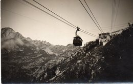 Chamonix Mont Blanc - Carte Photo , Téléphérique - Chamonix-Mont-Blanc