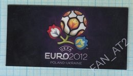 UKRAINE / Flexible Magnet / Football Europe Championship UEFA EURO 2012 Poland Polska. - Sports