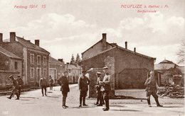 NEUFLIZE.  Dorfschmiede - France