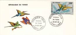 TCHAD - 1966 - FDC - Oiseau Du Tchad - Tchad (1960-...)