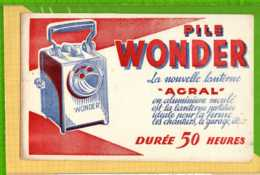 BUVARD & Blotting Paper : Pile Wonder La Nouvelle Lanterne AGRAL - Batterie