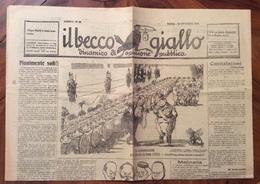 IL BECCO GIALLO GIORNALE  DEL 19 OTTOBRE  1924 ROMA ANNO I N.41 COMPLETO - Books, Magazines, Comics