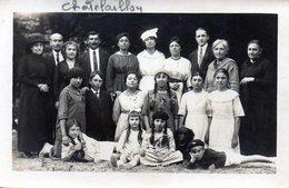 Carte-photo  (de Famille) Chatelaillon Datée Au Dos De 1919 - Châtelaillon-Plage