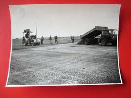 20-PHOTO INDUSTRIELLE - A.Lirot 7 Rue D'Austrasie Metz Construcion Autoroute A 31 De METZ/NANCY Daté 14  Juin 1952 - Metz
