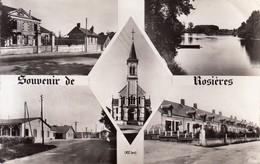 18 - Rosières : Souvenir De... - Multivues - CPM Au Format 9 X 14 écrite - Autres Communes