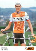 BRUNO LE BRAS EQUIPE CYCLISTE  BIC - Cycling