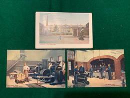 London 1907 - The Royal Mint - 3 Cards - London