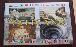 VATICAN 2019, FOLDER OF 20 VATICAN CITY POSTCARDS NEW - Vaticano