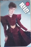 1989 - Rila - Socialist Fashion - Bulgaria - Calendari