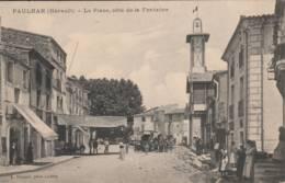 Pauhlan - La Place Coté De La Fontaine - Paulhan