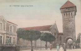 Hontax  - église Et Tour Carrée (belle Animation) - Sonstige Gemeinden