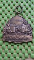 Medaille / Medal - Medaille - Borculose Wandeltochten (watermolen) 1961   - The Netherlands - Nederland
