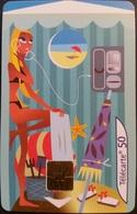 Telefonkarte Frankreich - Les Cabines D'...Plage 4/4 - Telefonzelle - 50 Units - 07/01 - Frankreich