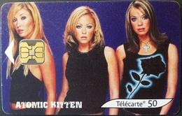 Telefonkarte Frankreich - Atomic Kitten - 50 Units - 08/02 - Frankreich
