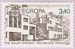 N° Yvert & Tellier 2472 - Timbre De France (Année 1987) - MNH - Europa - Rue Mallet-Stevens (Paris 16è) - Francia