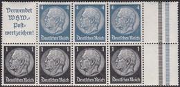 Deutsches Reich    .   Michel   .    H-Blatt 98     .    **    .   Postfrisch      .   /    .   MNH - Se-Tenant
