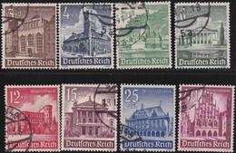 Deutsches Reich     .   Michel   .    8   Marken       .    O     .  Gebraucht      .   /    .   Cancelled - Duitsland