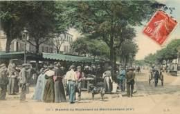 PARIS XXe MARCHE DU BOULEVARD DE MENILMONTANT BELLEVILLE 75020 - Distrito: 20