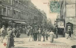 TOUT PARIS XXe RUE MENILMONTANT A LA HAUTEUR DE LA RUE DE LA MARE 75020 - Distretto: 20