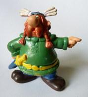 RARE FIGURINE ABRARACOURCIX GOEBEL 1ERE SERIE ( ASTERIX ) (3) - Asterix & Obelix