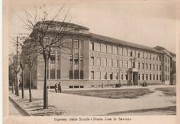 """8370.   Torino - Ingresso Delle Scuole """" Maria Josè Di Savoia"""" Regio Educatorio Della Provvidenza - Education, Schools And Universities"""