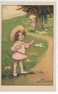 CARD AGNES RICHARDSON BIMBE GIOCANO A NASCONDINO VIENNE  MUNK   -FP-N-2--0882-28773 - Illustrateurs & Photographes