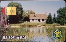 Telefonkarte Frankreich - Werbung - Gites De France - 50 Units - 03/92 - Frankreich