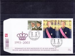 België / FDC - Familles Royales