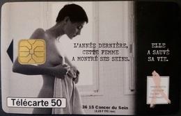 Telefonkarte Frankreich - Werbung - Frau - 50 Units - 10/99 - Frankreich