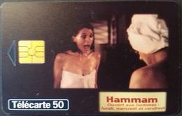 Telefonkarte Frankreich - Werbung - Frau - 50 Units - 12/97 - Frankreich