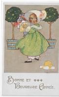 CARD AGNES RICHARDSON BIMBA CON REGALI BUON ANNO    -FP-N-2--0882-28774 - Non Classificati