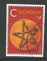 Slovenië, Yv 1036   Jaar 2016, Op Papier, Zelfklevend, Gestempeld - Slovénie