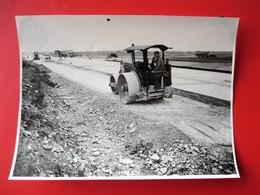 33-PHOTO INDUSTRIELLE- A.Lirot 7 Rue D'Austrasie Metz Construcion Autoroute A 31 METZ/NANCY Daté 14 Juin 1952 - Metz