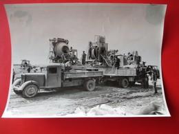 34-PHOTO INDUSTRIELLE- A.Lirot 7 Rue D'Austrasie Metz Construcion Autoroute A 31 METZ/NANCY GROS ENGINS Du 14 Juin 1952 - Metz