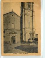 CPSM 12 Aveyron Vabres Place De L'Eglise - Vabres