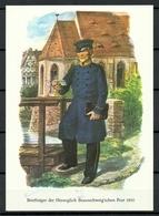 DEUTSCHLAND 1972 Briefträger D. Herzoglich Braunschweigschen Post Um 1850 - Post & Briefboten