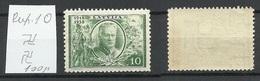 LETTLAND Latvia 1938 Michel 266 Perf 10 Inverted Vertical WM MNH - Lettonie