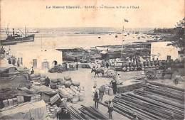 MAROC RABAT La Douane, Le Port Et L'Oued- ETAT = Voir Description  (-- Editions Schmitt Rabat )   *PRIX FIXE - Rabat