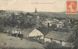 CPA 12 Aveyron Pousthomy Près St Saint Sernin (tachée Et Un Peu Cornée) - Vabres