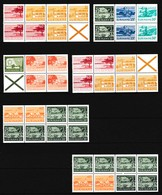 Suriname Luchtpost, Verzameling Combinatie Van Boekjes **, Zeer Mooi Lot K971 - Collections (sans Albums)