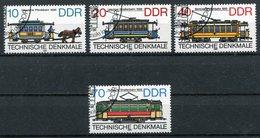 DDR Michel-Nr. 3015-3018 Gestempelt - DDR