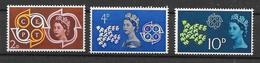 Yv. 346/8 * * - Unused Stamps